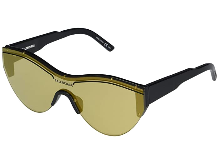 Balenciaga  BB0004S (Black) Fashion Sunglasses