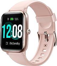 ساعت هوشمند Letsfit ، ردیاب تناسب اندام با مانیتور ضربان قلب ، ردیاب فعالیت با صفحه لمسی 1.3 اینچی ، ساعت هوشمند گام شمار ضد آب IP68 با مانیتور خواب ، شمارنده گام برای زنان و مردان