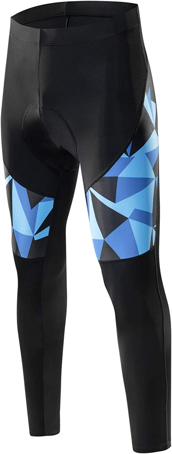 Santic Men's Max 44% OFF Cycling Pants Padded 2021 model Long with C Tights Fleece Bike