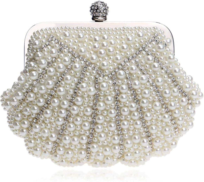 bf6a1ecae6267 GODW Damen Clutch Faux Perle Perlen Diamant Shell Abendtaschen Abendtaschen  Abendtaschen Hochzeit Geldb ouml rse Partei Abschlussball Handtaschen  B07GWLC8YG ...