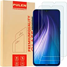 [2-Pack] PULEN for Xiaomi Redmi Note 7/Redmi 7/Redmi Note 8 Screen Protector,HD Anti-Fingerprints Scratch Resistance Bubble Free 9H Hardness Tempered Glass for Xiaomi Redmi Note 7/Redmi Note 8,6.3'' 2019