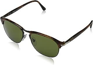 Persol Men's Polarized Aviator Sunglasses