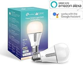 TP-Link KL120 Lampadina Wi-Fi E27, 10 W, Funziona con Amazon Alexa e Google Home, 800 lumen, 2700K-5000K, Controllo da remoto, Bianco freddo e caldo
