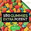 New Age Naturals Advanced Hemp Gummies 9000 Extra Strength- 2 Pack - 180ct - Natural Hemp Oil Gummies - Vegetarian, Non GMO #2