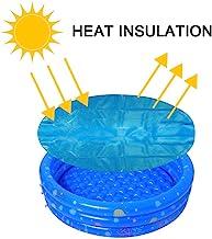LXDZXY Dekzeil op zonne-energie, weerbestendig, stofafdekzeil, voor familie tuin zwembadaccessoires regenhoes/blauw/1,22 m