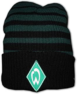 UMBRO Werder Two Colour Striped Beanie