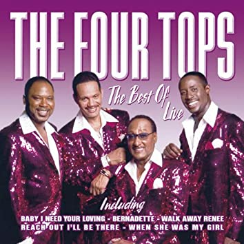The Best Of The Four Tops Live