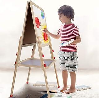Caballete de madera para niños de Zerone, para artistas, po