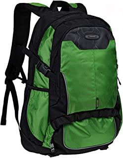 Backpack Outing Fashion Travel Laptop Bag, Casual Campus College Backpack (Color : Green)