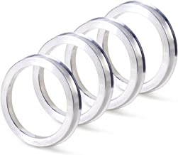 ZHTEAP 4pc Wheel Hub Centric Rings 78.1 to 108 OD=108mm ID=78.1mm - Aluminium Alloy Wheel Hubrings for Most Chevy GMC