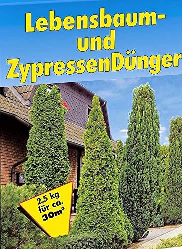 Lebensbaum & ZYPRESSEN DÜNGER 2,5kg Tannen Koniferen