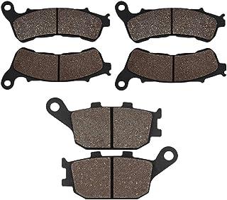 ABS XL 700 Transalp VA CBR 600 FA 11-13 08-12 3 Piston Front Caliper SOMMET Pastiglie freno Anteriori 08-12 CBF 600 NA SA ABS 07-13 Posteriore per Honda CB 600 Hornet ABS Model FA