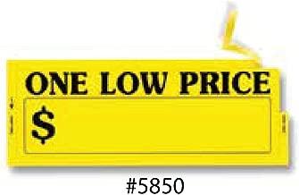 One Low Price Window Sticker
