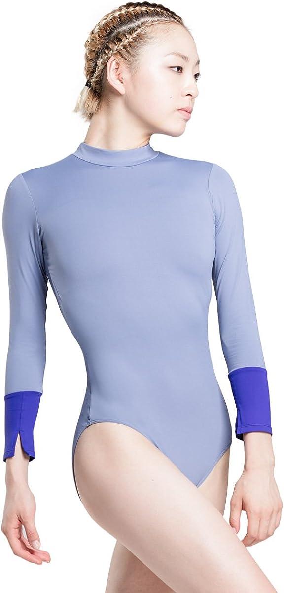 depot 117141018 High Collar 7 Minutes Max 86% OFF Sleeve Ballet Leotard of Elegant