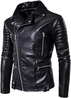 : blouson simili cuir 5XL Homme : Vêtements
