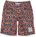 Lucky Brand Boys Swim Trunks, Tigerlily, 14