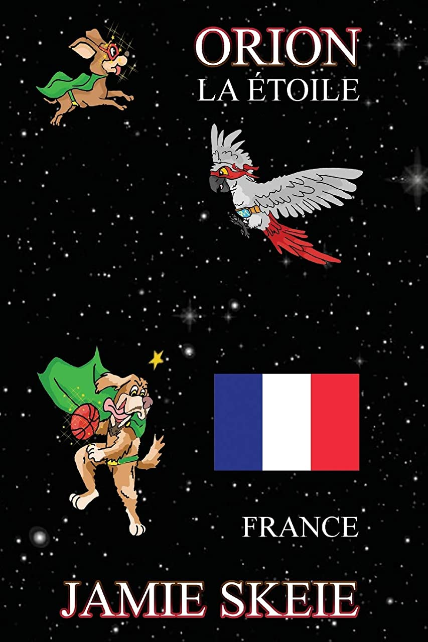 中庭使役空中Orion la étoile: France