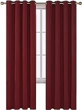 Best maroon silk curtains Reviews