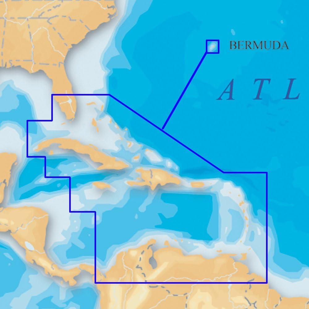 Navionics MSD/908P-2 Platinum Caribbean - microSD/SD