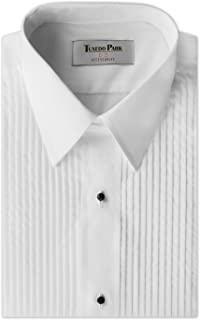 Tuxedo Shirt- Boys White Laydown Collar 1/4