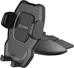 Cellet Universal CD Slot Phone Holder, Cradle Mount, One-Touch Release Compatible for iPhone Xr Xs Max 11 Pro, Samsung Galaxy Note 10 10+ 10 5G