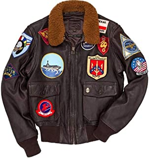 G1 Bomber Cowhide Leather Jacket