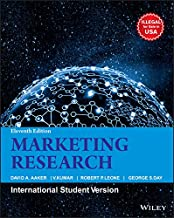 Marketing Research, 11 Edition