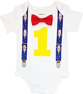 Boys First Birthday Party Cake Smash Theme Outfit
