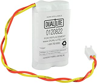 Dual-Lite 0120822 Approved 4-volt 600mAh 2AA Type Cells New Nickel Cadmium Battery