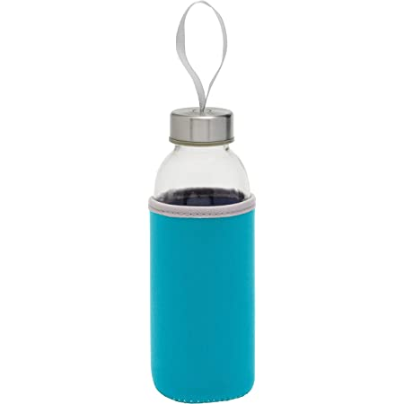 TOPICO Take Well 56-0304231 Bouteille isotherme en verre / BR/acier inoxydable