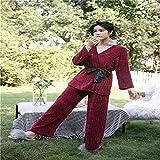 Pijama para Mujer otoño e Invierno Honda túnica Tres Piezas de Terciopelo de Nieve Servicio a Domicilio
