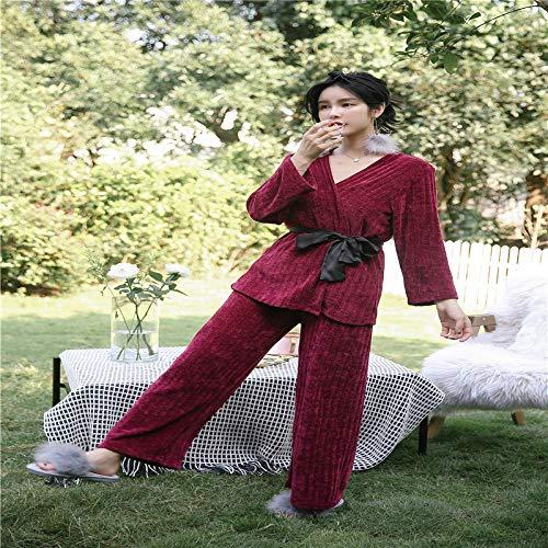 Pijama para Mujer otoño e Invierno Honda túnica Tres