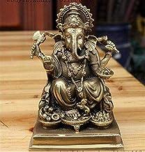 PPCP Buddha Ornament Tibet Buddhism Sit Ganapati Ganesh Lord Ganesha Elephant Statue