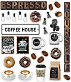 Schoolgirl Style™ Industrial Cafe Espresso Yourself Mini Bulletin Board Set, 52 Pieces