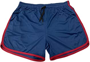 AleXanDer1 Shorts Heren Sport Gym Atletische Shorts Midden Broek Elastische Band Rits Pocket Man Midden Zachte Katoenmix R...