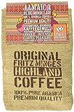 Fritz Minges Jamaica Blue Mountain in Bohnen, Jutesäckchen, 1er Pack (1 x 125 g)