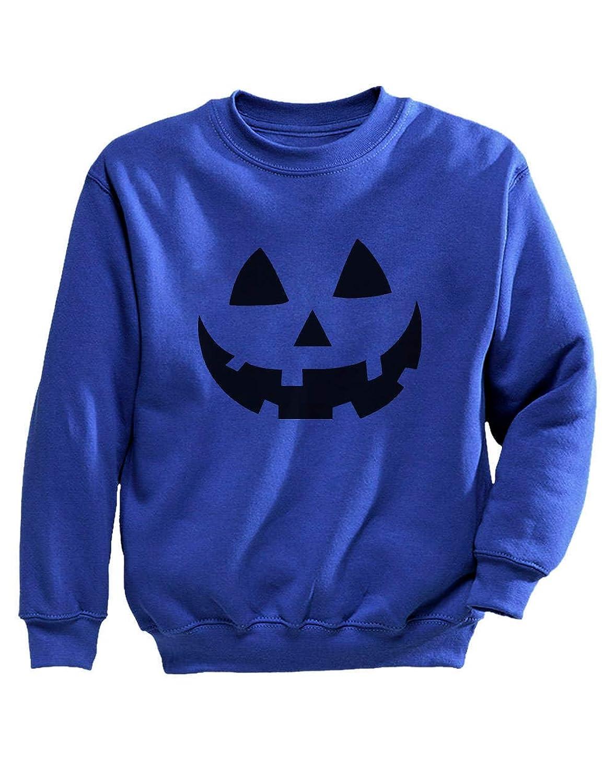 Tstars - ファニーハロウィンパンプキンシャツ おもしろいハロウィンパンプキンシャツ 楽しいハロウィンパンプキンシャツ キッズスウェットシャツ
