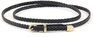 Vintage Pin Buckle Waist Strap Women Weave Leather Belts Hand-Knit Female Decoration Belt For Dress Waistband