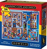 Dowdle Jigsaw Puzzle - Raining Cats and Dogs - 500 Piece