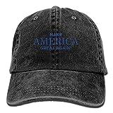 Lionel Philip Classique Sports Casual Plain Sun Hat Adultes MAGA Make America Great Again Réglable Casual Cool Casquette De Baseball Rétro Cowboy Chapeau Coton Teint Casquettes