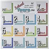 Scrapbook Customs Themed Paper Scrapbook Kit, School Years