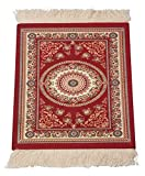 Mouse Pad - Oriental Rug Computer Mousepad, Red Persian Rug Design