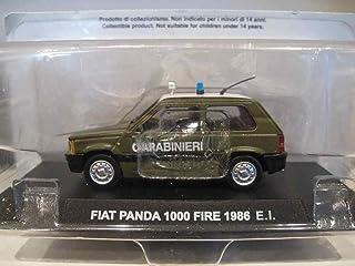 Altayaパトカーコレクション1/43FIATフィアット パンダ1000 FIRE 1986 E.L. CARABINIERI前期顔グリル