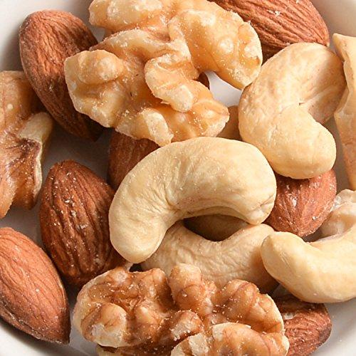 ミックスナッツロースト/1kgTOMIZ/cuoca(富澤商店)素焼き無塩無添加オイルなし保存に便利なチャック袋入(アーモンド約33%カシューナッツ約33%くるみ約33%)