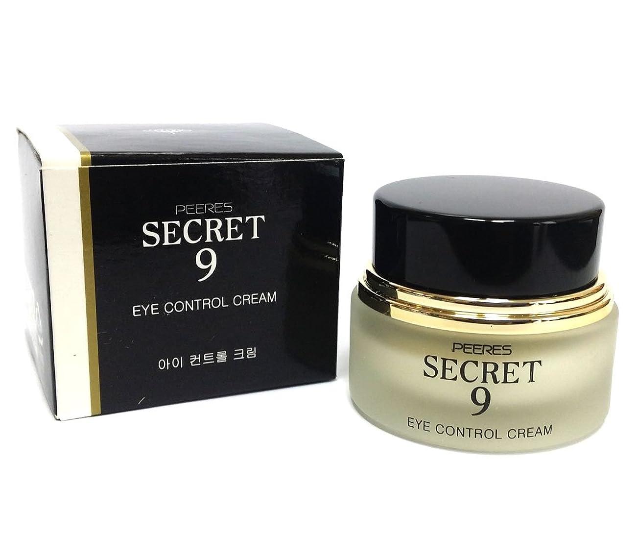 説得カーペット多様体[PEERES] シークレット9アイコントロールクリーム20g / Secret 9 Eye Control Cream 20g / しわ、しっとり、弾力、トリートメント/ anti-wrinkle, moisturizes, elasticity, Treatment / 韓国化粧品 / Korean Cosmetics [並行輸入品]