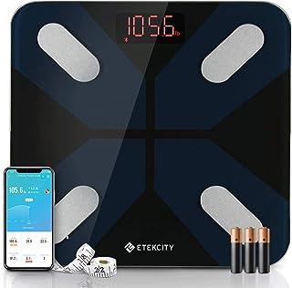 Etekcity Weight Scale, Smart Body Fat Scale, Bathroom Bluetooth Digital Scale Tracks 13 Key Compositions Analyzer, 6mm-Thi...