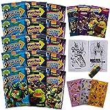 Set Of 15 Teenage Mutant Ninja Turtles Play Packs Fun Party Favors Coloring Book Crayons Stickers
