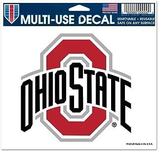 WinCraft NCAA Ohio State University Multi-Use Colored Decal, 5