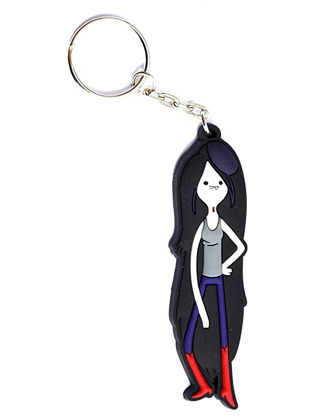 Animewild Adventure Time Marceline The Vampire Queen Rubber Keychain