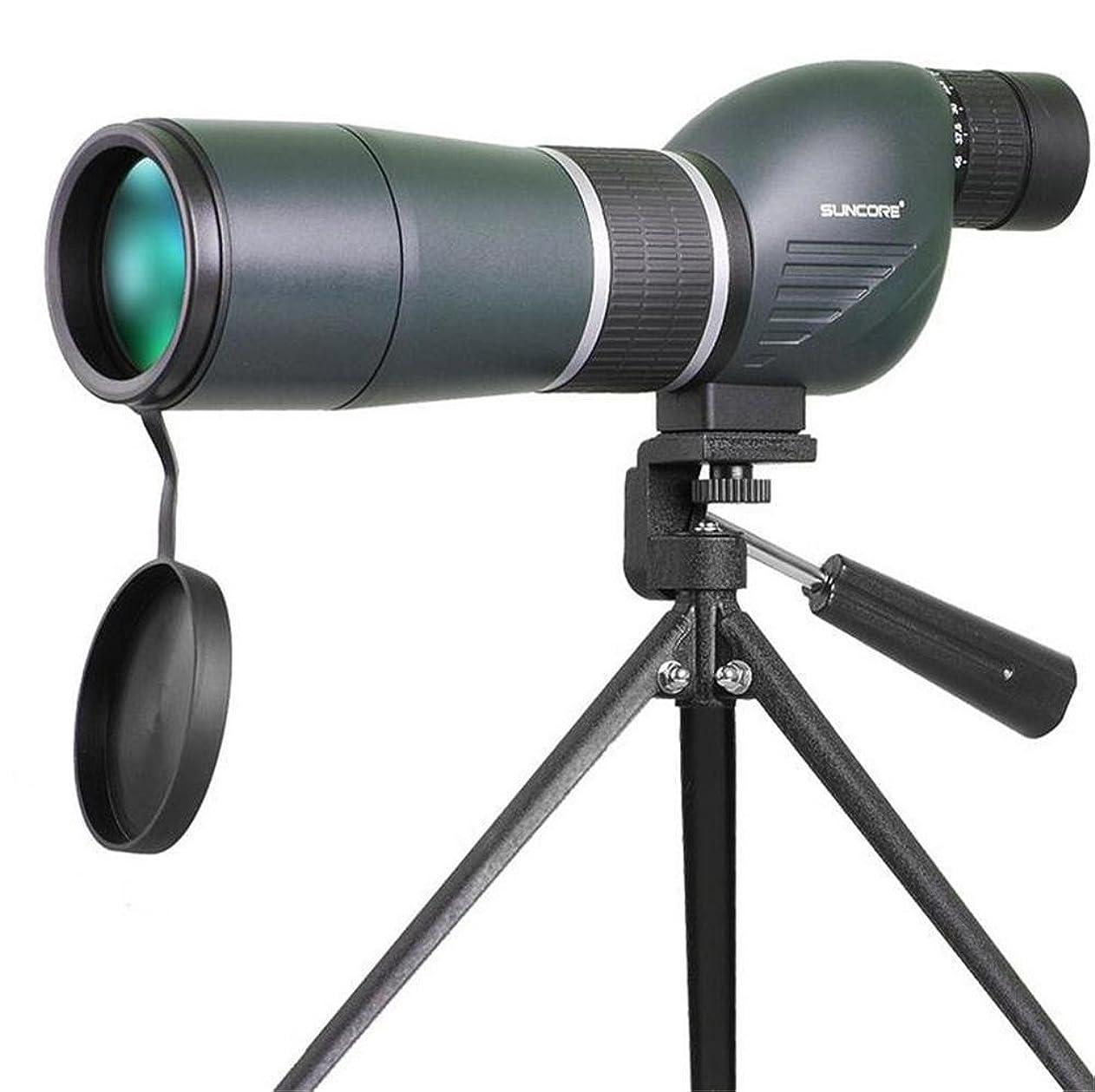 非効率的な戸棚腹痛TTYY 単眼鏡 望遠鏡 15-45X60 防水 HD ポータブル 鳥/野生動物/狩猟/キャンプ用 (三脚ブラケットを除く)